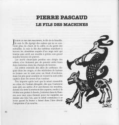 """""""Le fils des machines"""", texte et dessin : Pierre Pascaud"""