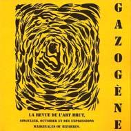 Gazogène n°28, couverture : Michel Boudin